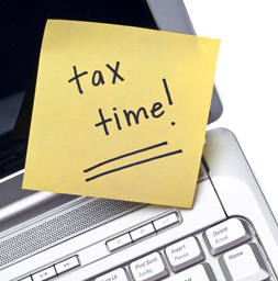 Tax Time Post It